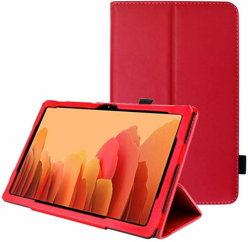 Samsung Galaxy Tab A7 10.4 2020 T500 T505  Smart  red Folding Stand Cover