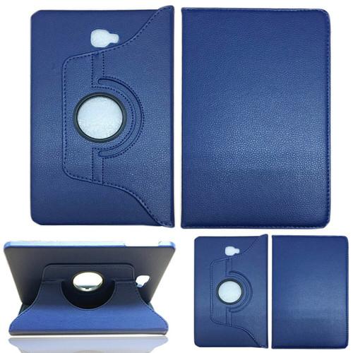 Samsung Galaxy S3 9.7 T820/ T825 black 360 rotate case blue