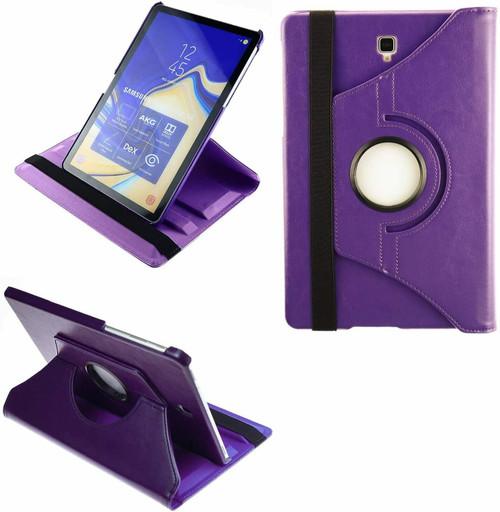Samsung Galaxy S3 9.7 T820/ T825 purple 360 rotate case blue
