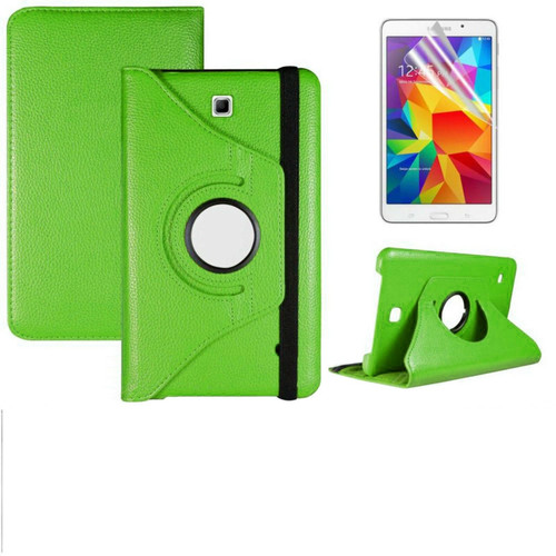 Green PU Leather 360° Rotate Stand Case For Samsung Galaxy Tab S 8.4in SM-T700 SM-T705