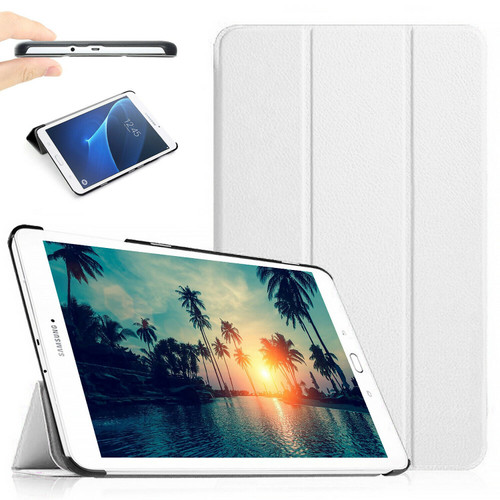 """White Stand Smart Flip Case Cover For Samsung Galaxy Tablet E 9.6"""" (2015) T560 T561"""