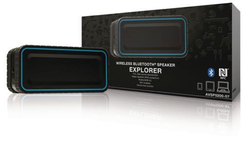 Bluetooth Speaker 2.0 Explorer 12 W Built-In Microphone Black/Blue