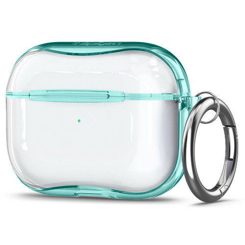 Apple Airpods Pro Case, Spigen Ultra Hybrid Protective Cover - Green Crystal