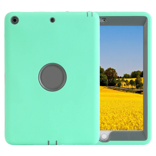 Green heavy Duty Protective Cover For iPad 6th 5th Gen 2018 9.7 Kids Shockproof Case