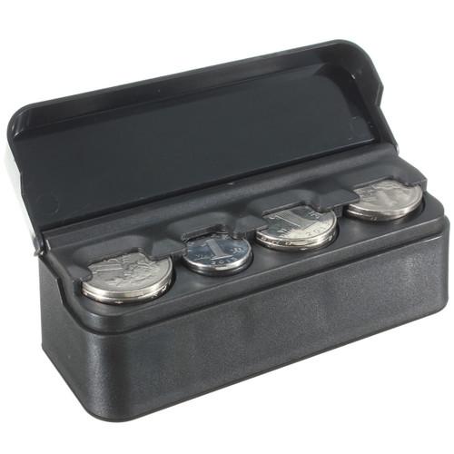 Car Interior Coin Storage Box Holder