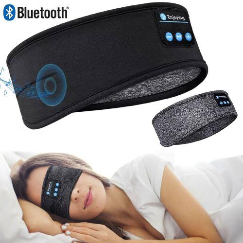 Bluetooth Sleep Headband Wireless Stereo Headset Sport Music Earphone Headphone