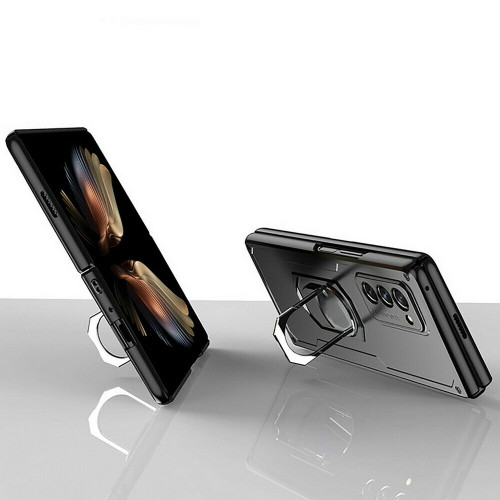 For Samsung Galaxy Z Fold 2 5G Luxury Shockproof Matte Slim PC Phone Case Cover