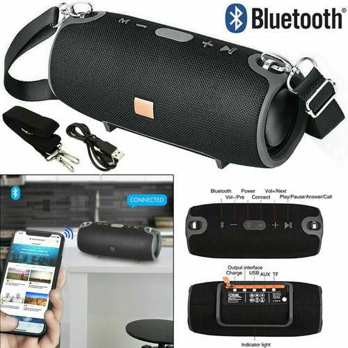 40W Portable Wireless Bluetooth Speaker Waterproof Stereo Bass Loud USB AUX MP3