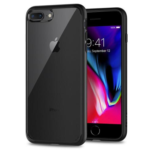 iPhone 8 Plus, 7 Plus Case, Spigen Ultra Hybrid 2 Protective Cover - Black