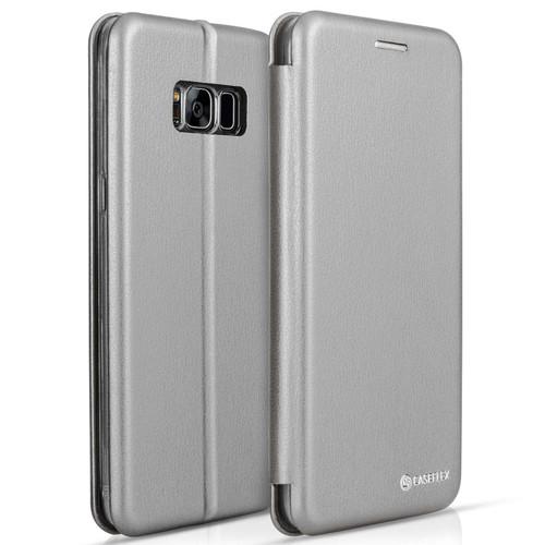 Caseflex Samsung Galaxy S8 Snap Wallet Case - Grey (Retail Box)