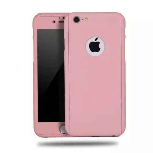 Pink  Shockproof 360° Full Body Cover Protective for iPhone 5 / 5S
