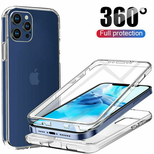 Full Body Clear Hybrid Shockproof 360 Case for iPhone 5 / 5S