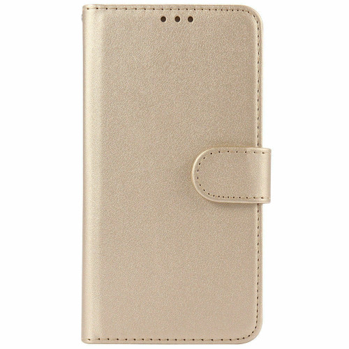 Gold  Pu Leather Flip Wallet Cover for iPhone 5 / 5S