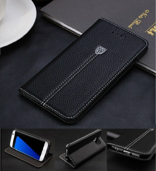Luxury Magnetic Flip Wallet Leather Case Cover for iPhone 5 / 5S