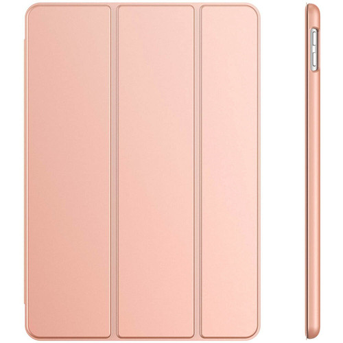 Rose gold Leather Ultra Slim Case Magnetic Smart Cover Stand for iPad 12.9 2021
