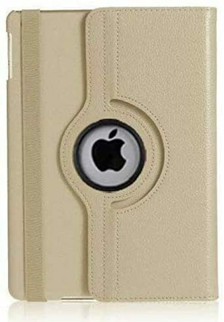 For Apple iPad Pro 11 3rd Generation Case 2021 gold  360 Smart Rotating Leather Cover