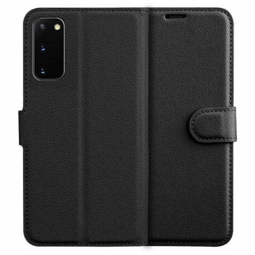 Black  Flip Wallet Leather Magnetic for Samsung galaxy A72