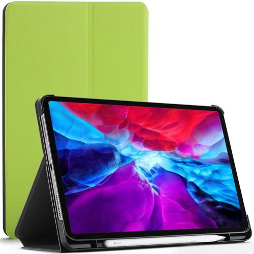 Green Apple iPad Pro 12.9 2020 Protective Stand  Smart Auto Sleep Wake Case Cover