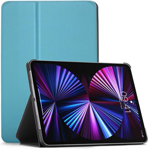 Sky blue Apple iPad Pro 12.9 2020 Protective Stand  Smart Auto Sleep Wake Case Cover
