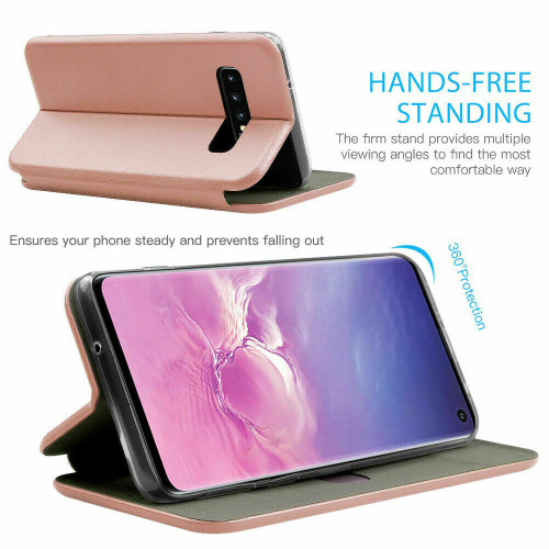Rose gold Flip Leather Case for Samsung Galaxy A32  Magnetic Wallet Cover