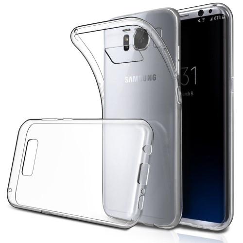 Crystal Clear S4 Mini TPU Gel Jelly Skin Case Back Cover