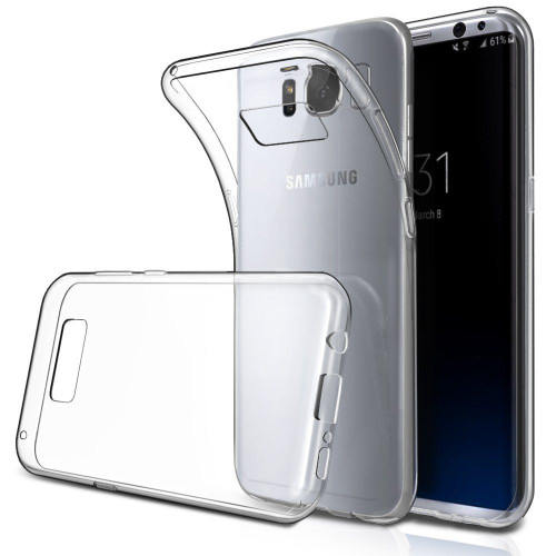 Crystal Clear S5  TPU Gel Jelly Skin Case Back Cover