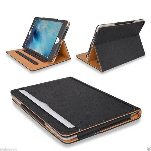 Leather TAN Magnetic Case Cover For Apple iPad Pro 12.9 2021