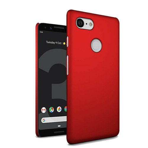 for Google Pixel 4a red Ultra Slim Armour Hard Case Cover