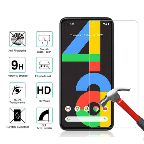 For Google Pixel 4a tempered glass screen protector