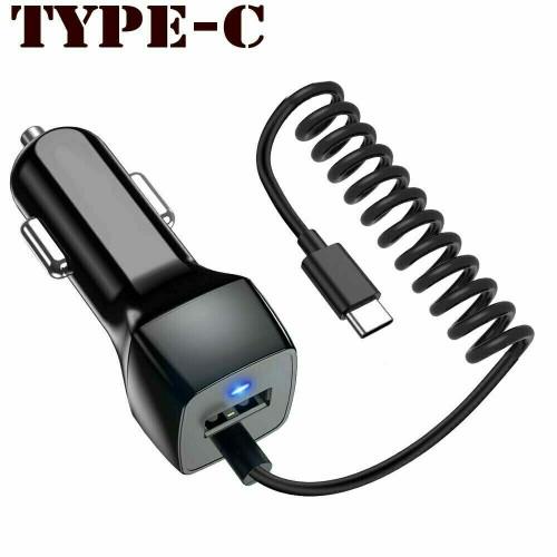 Fast USB-C Car Charger For Google Pixel 4 4x1 Pixel 2 3 3A / Pixel 2 3 3A 4 XL / Pixel 5 XL