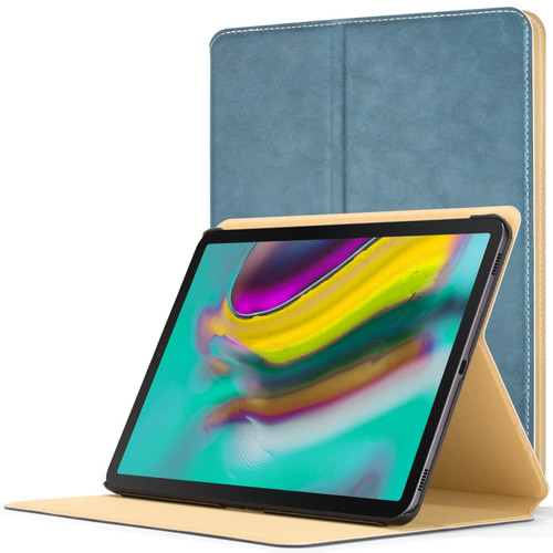 Samsung Galaxy Tab S5e 10.5 Smart Case sky blue Luxury Magnetic Protective Cover Stand
