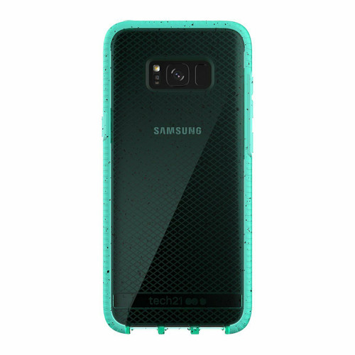 Tech21 Samsung Galaxy S8+ Plus Evo Check Active Edition Case Cover Turquoise