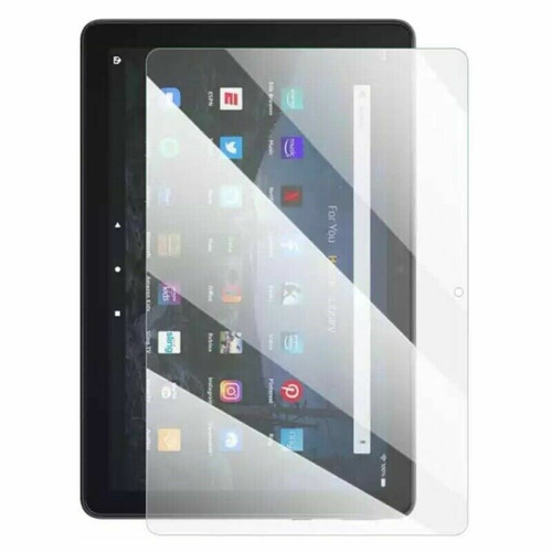 For Amazon Fire HD 10 plus (2021) Tempered Glass Screen Protector (11th Gen) Tablet