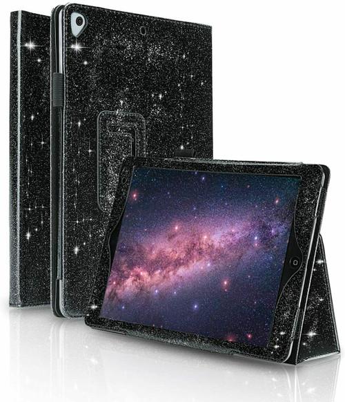Black Luxury  stand Glitter Case for Apple ipad Mini 4