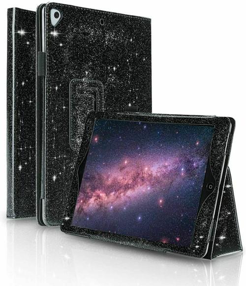 Black Luxury  stand Glitter Case for Apple ipad Mini 123
