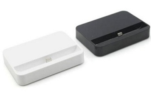 Charge Synchronise Dock Station Docking for Apple iPhone 5 6 7 White