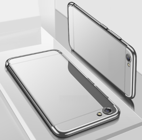 Soft Thin silver TPU Silicone Shockproof Phone Case Cover OnePlus 7 pro