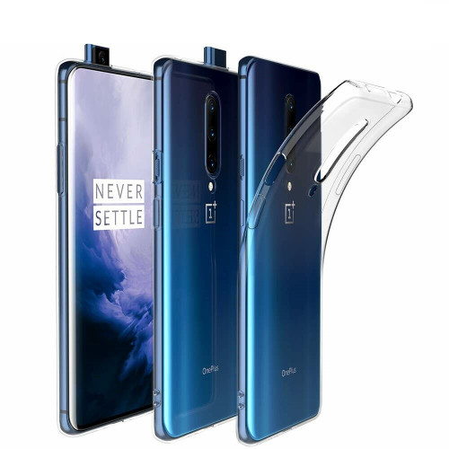 For OnePlus 7 Pro Case Clear Silicone Ultra Slim Gel Cover
