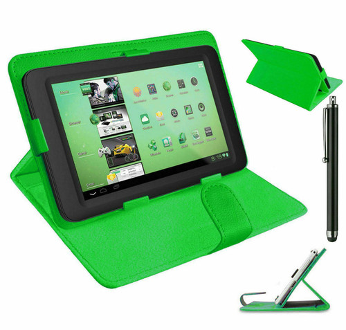 Green universal book flip case leather Cover for Samsung Galaxy Tab PRO 10.1 (T520/T525)