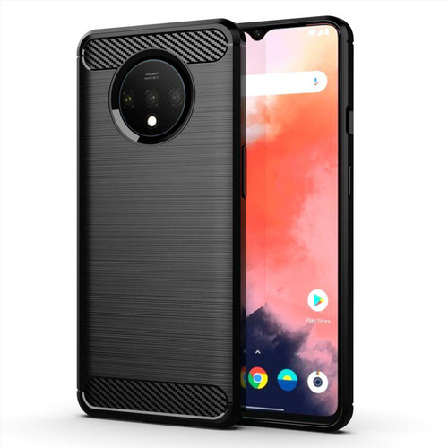For OnePlus 7 Pro Carbon Slim Armour Shockproof Case Cover