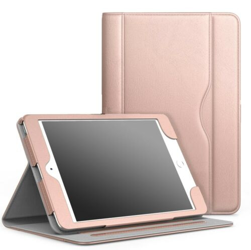 """Rose gold Luxury Magnetic Leather Flip Stand Case Cover For Apple iPad Pro 12.9"""" 2021"""