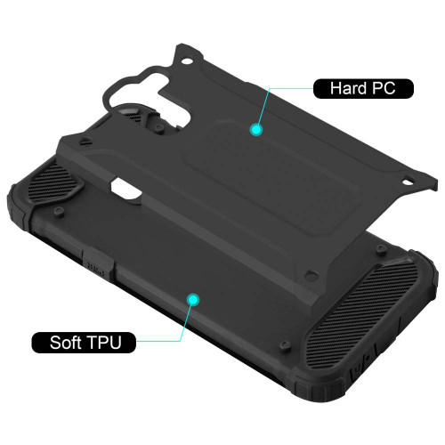For Samsung Galaxy A6 Plus Phone Case, Heavy Duty Shock Proof Armour Cover