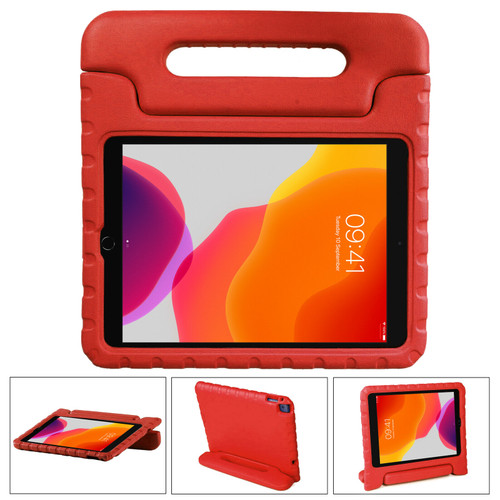 Red Shockproof Kids EVA Foam Stand Case Cover For Apple iPad 10.2 (2021) 9th Gen