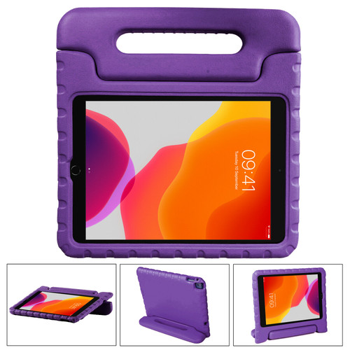Purple Shockproof Kids EVA Foam Stand Case Cover For Apple iPad 10.2 (2021) 9th Gen