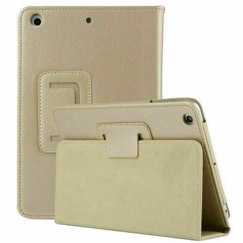 Gold Leather Flip Smart Stand Case Cover For Apple iPad 9th Generation 10.2 2021