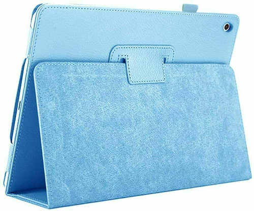 Sky blue Leather Flip Smart Stand Case Cover For Apple iPad 9th Generation 10.2 2021