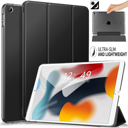 Black For Apple iPad 9th Generation 10.2 Case Smart Stand Cover 2021