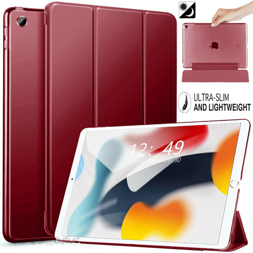 Wine For Apple iPad 9th Generation 10.2 Case Smart Stand Cover 2021