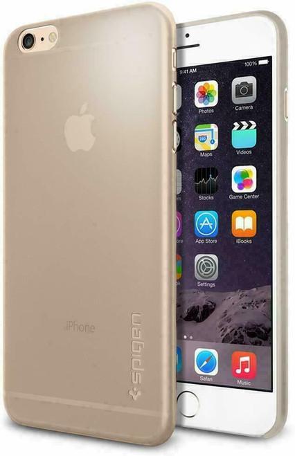 For iPhone 6s Plus, 6 Plus Case, Spigen Air Skin Ultra Lightweight Cover - Gold