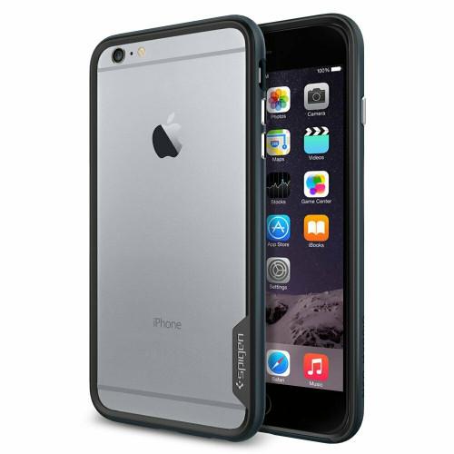Metal slate For iPhone 6 Plus Case, Spigen Neo Hybrid EX Premium Shockproof Bumper Cover